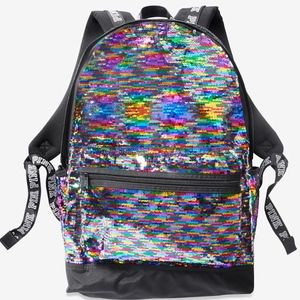 🔥🆕 🎒 VS PINK Bling Reversible Campus Backpack
